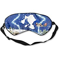 Eye Mask Eyeshade Christmas Reindeer Flying Sleeping Mask Blindfold Eyepatch Adjustable Head Strap preisvergleich bei billige-tabletten.eu
