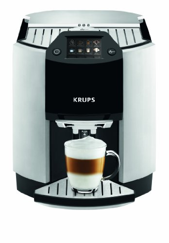 Krups EA9010 Kaffee-Vollautomat One-Touch-Funktion (1,7 L, 15 bar, Touchscreen-Display, Milchbehälter) silber thumbnail