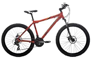 DBR by Raleigh Mens Alloy Mountain Bike - Orange, 26-inch Wheel, 16 Inch Frame