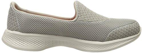 Skechers Damen Go Walk 4-Propel Sneakers Beige (tpe)