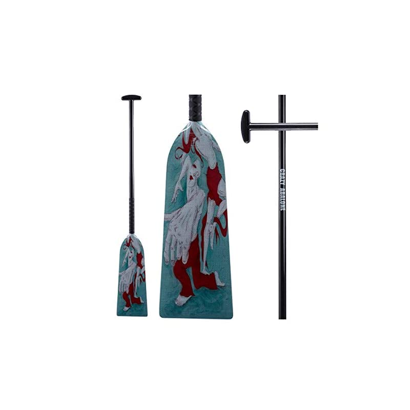 CRAZY ABALONE Double-Sided Pattern Art and Paddle — Dancer Sport IDBF Approved Carbon Fiber Dragon Boat,Hybrid Paddle…