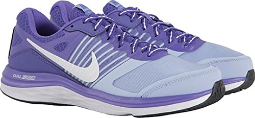 Nike Wmns Dual Fusion X, Dual Fusion X homme Violet / Gris / Blanc