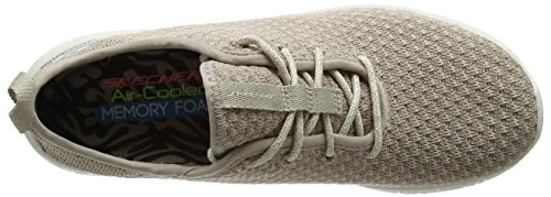 Skechers Burst, Sneakers Basses Femme Beige (NAT)