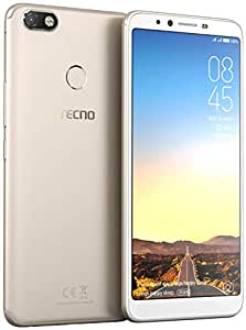 Tecno Camon iClick (20MP Front + 16MP Rear Camera) 4GB RAM + 64GB (Gold)