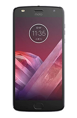 Motorola Moto Z2 Play Smartphone, 64 GB, 5.5 pollici, Lunar Gray, Single SIM - XT1710-09