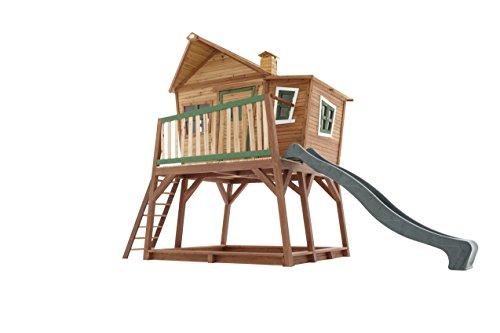 Axi Kinder Spielhaus Max mit Terrasse und Anbau - Stelzenhaus