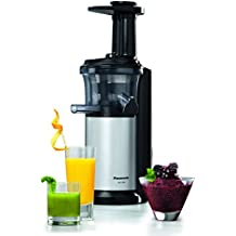 Panasonic MJ-L500SXC Slow Juicer with Frozen Sorbet Attachment, 150 W - Silver by Panasonic