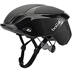 Bollé The One Premium Cascos Ciclismo, Unisex Adulto, Black Carbon, 54-58 Cm