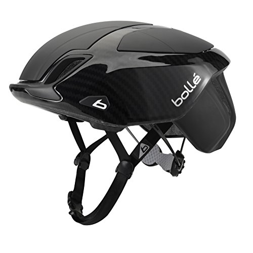 Bollé The One Premium Cascos Ciclismo, Unisex Adulto, Black Carbon, 58-62 Cm