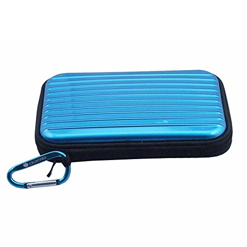 Casio-audio (Blue Portable Case Tasche Bag Cover Pouch Box for CASIO EXILIM EX-FR10 Digital Camera)