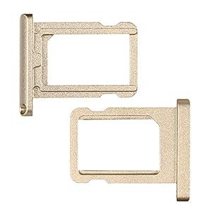 """BisLinks® Champagne Gold Nano Sim Card Tablett Halter Silber Ersatz Für iPad Pro 12.9"""""""