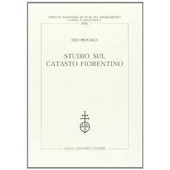 Studio Sul Catasto Fiorentino