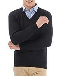 Monte Carlo Mens Full Sleeve Pullover (_8907339573545_Black_Large_)