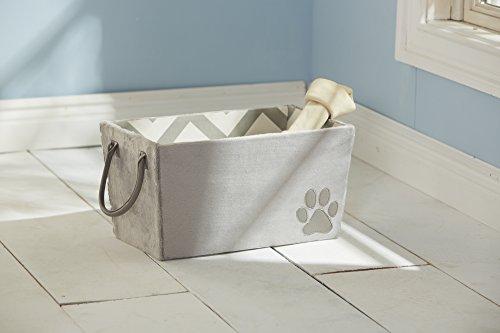 KAHU Hundespielzeug | Tragebox| Aufbewahrung| - Farbe Grau, Größe - Für Kiste Hundespielzeug