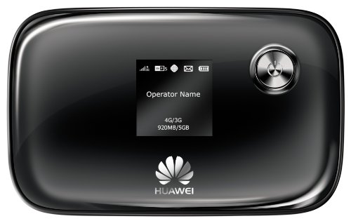 Huawei E5776 LTE Mobile WiFi Hotspot (150Mbps, microSD Kartenslot) schwarz