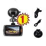 1080P Full HD grabador de vídeo, mini Dashcam salpicadero DVR videocámara Sannysis cámara de video G-sensor de visión nocturna, Monitor de aparcamento, apoyo tarjeta de 32GB (1PC 2.4 pulgadas)