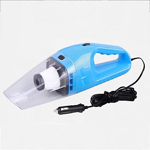 Auto Staubsauger 120 Watt Tragbaren Handstaubsauger Nass Und Trocken Dual Use Auto Vakuum Aspirateur Voiture 12 V (Farbe : Blau) (Nass-trocken-vakuum-gebläse)