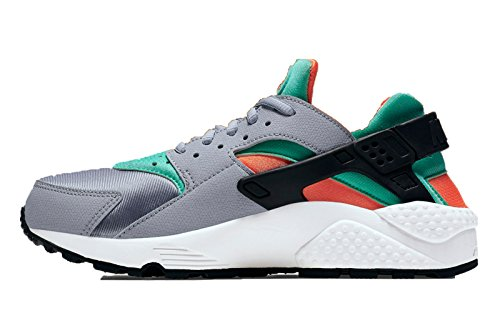 Nike - Wmns Air Huarache Run, Scarpe sportive Donna Wolf Grey/total Orange/Summit White/Gree