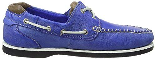 Chatham Churchill, Chaussures Bateau Homme Bleu - Blue (Blue/Taupe)