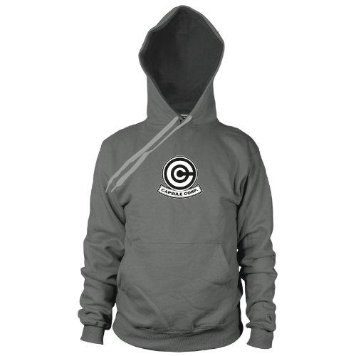 DBZ: Capsule Corp - Herren Hooded Sweater, Größe: XXL, Farbe: (Kostüm Xenoverse Bulma)
