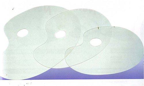 Mischpalette 31 x 21 cm Acryl transparent