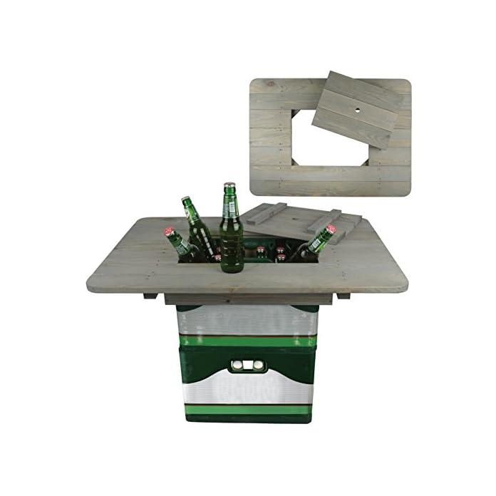 Esschert Design Bierkistentisch Aus Kiefernholz 78 X 574 X 11 Cm Partyzubehr Party Gartentisch