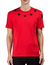Givenchy T-Shirt - Manches Courtes - Homme Rouge Rouge 119d5924a46