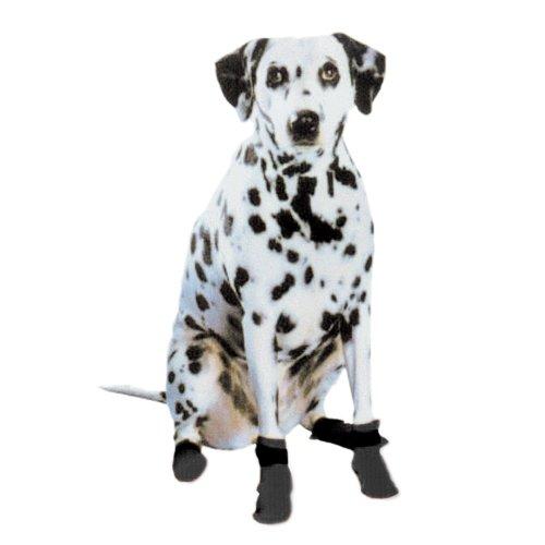 Artikelbild: Pedigree Perfection pt-xs-blk pawtectors SUPERMOBILE Paw Stiefel für Ihr Haustier, Schwarz, 4Stück