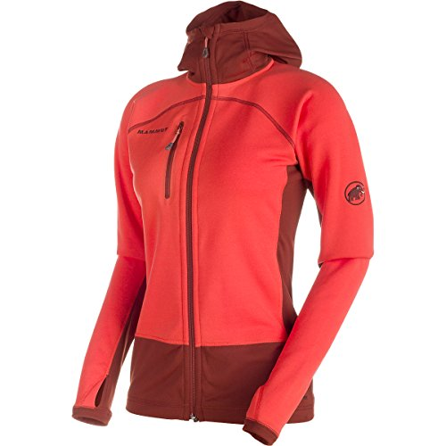 Mammut Damen Softshelljacke Aconcagua Pro ML Hooded dark red