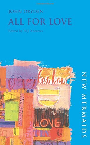 All for Love (New Mermaids) by John Dryden (2004-06-21)