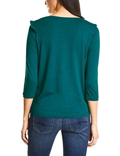 Street One Shirt Manches Longues Femme Grün (Teal Green 11270)