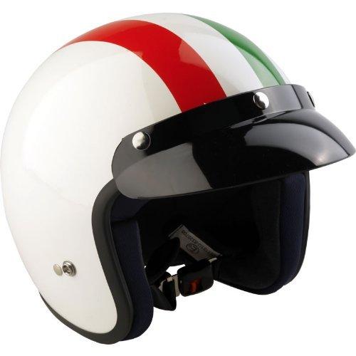 VIPER RS-04 - JETHELM MOTORRAD MOTORROLLER HELM - ITALIEN - Weiß - S