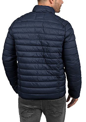 Blend Nils Herren Steppjacke Übergangsjacke Jacke Mit Stehkragen, Größe:S, Farbe:Navy (70230) - 4