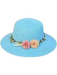 Sombreros de ala Ancha Fedora de Lana para Mujer Sombreros de sombrerera de  Jazz para Hombres Sombrero de Fieltro Panamá Trilby para… 7839e4e0b15