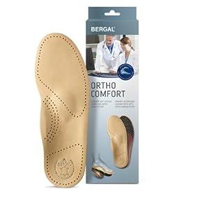 Bergal Ortho Comfort Einlegesohlen Fußbett mit echtem Leder Damen Gr. 39