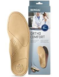 Bergal Ortho Comfort Orthopädische Einlagen mit echtem Leder