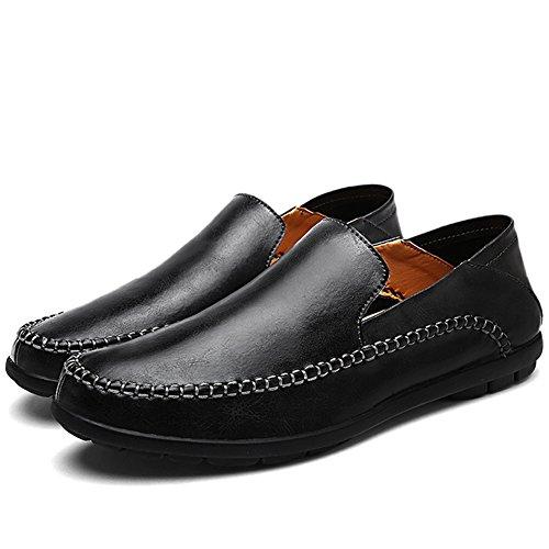 LakeRom , Mocassins pour homme Black35
