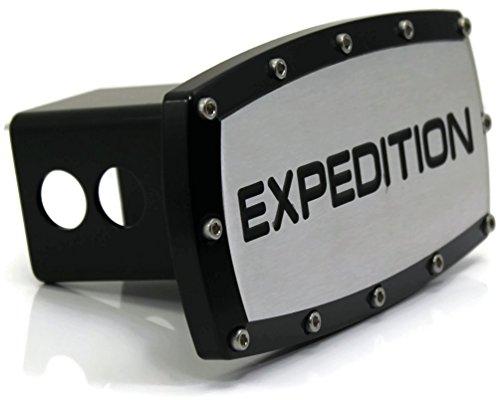 Preisvergleich Produktbild dantegts Ford Expedition 5,1cm Anhängerkupplung, Plug Gravur Billet Schwarz pulverbeschichtet