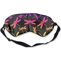 Schlafmaske, handgezeichnet, stilisierte Libellen, nahtlos, verstellbar preisvergleich bei billige-tabletten.eu