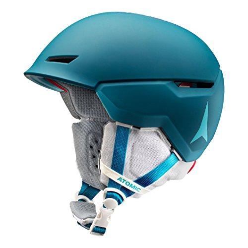 Atomic, Damen/Herren All Mountain Ski-Helm, Revent+ , Live Fit, Größe M, Kopfumfang 55-59 cm, Petrol, AN5005462M