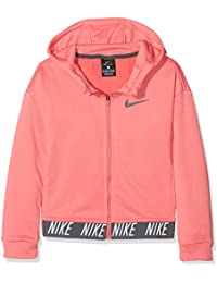 c400def49e Nike Core Studio Girls Dry Children's Hoodie Full Zip Hooded Sweatshirt,  Children's, Mädchen Dry Hoodie Full-Zip…