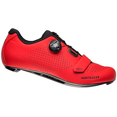 Bontrager Circuit Rennrad Fahrrad Schuhe rot 2018: Größe: 44
