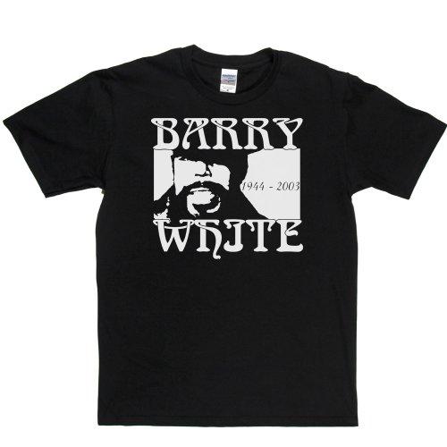 Barry White Soul Love Song Legend T-shirt Schwarz