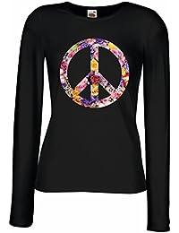 Amazon.es  Simbolo De La Paz - Camisetas   Camisetas y tops  Ropa 372b1d70e05