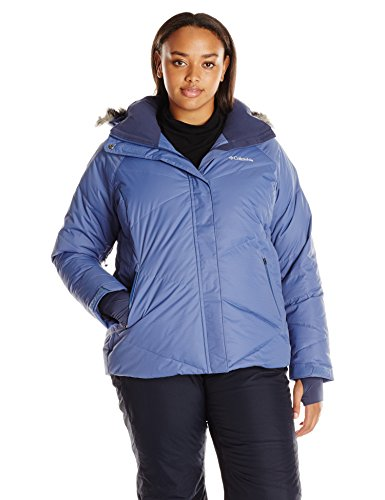 Columbia Women's Lay D Down Jacket (Plus Size), Bluebell, 1X