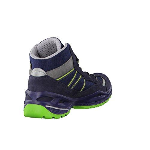 Lowa Simon Ii Gtx Qc, Chaussures de Randonnée Hautes Mixte Enfant Navy/Limone