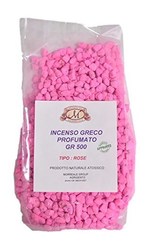 incenso greco profumato rose gr. 500