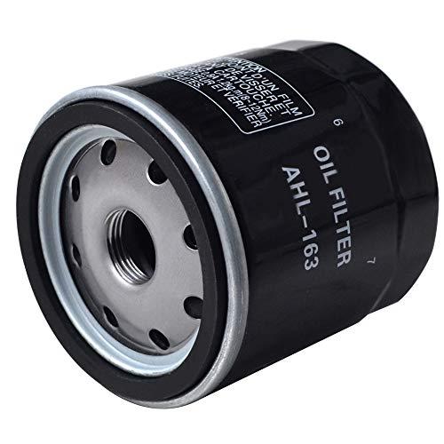 AHL - Filtro olio nero per R1150R 1150 2001-2006 / R1150RT 1150 2001-2005 / R1150GS Adventure 1150 2002-2005
