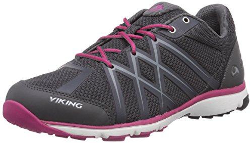 Viking Marka W, Scarpe da trail running donna, Grigio (Grau (Pewter/Dark Pink 7839)), 40