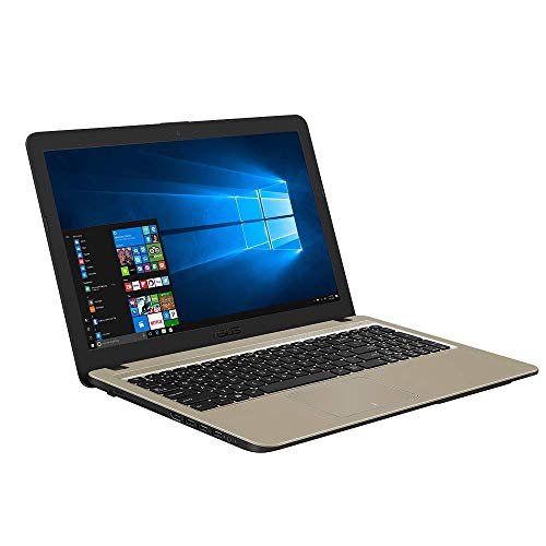 ASUS VivoBook 15 F540MA (90NB0IR1-M10160) 39,6 cm (15, 6 Zoll, HD, matt) Notebook (Intel Celeron N4000, 4GB RAM, 1024GB HDD, Intel UHD-Grafik 600, Windows 10) Black